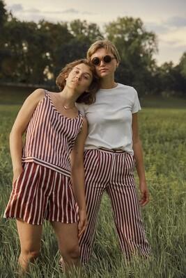Olá Lindeza | Oona t-shirt organic cotton - ecru/white