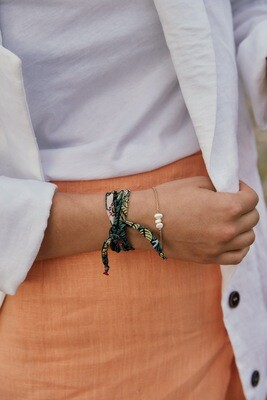 Luisa Könemann | Silk Bracelet - Jungle Print