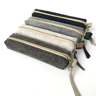 SOMAJ | Pencil case Etui - Merino wool