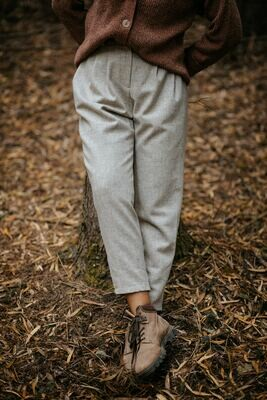 Näz | Sines Wool Trousers - Beige/Sand (one left)