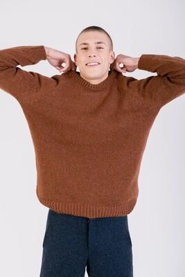 Näz | Unhais Wool Sweater - Rust/Orange (one left)
