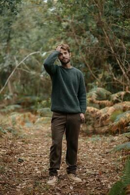 Näz | Pinhel Wool Sweater - Green