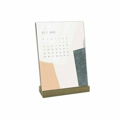 SOMAJ | Abstract Color Desk Calendar 2021