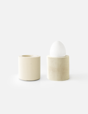 House Raccoon | Egg Cups - Sandy Beige (set of 2)
