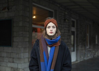 Wolvis | Knitted Head Band - Cognac
