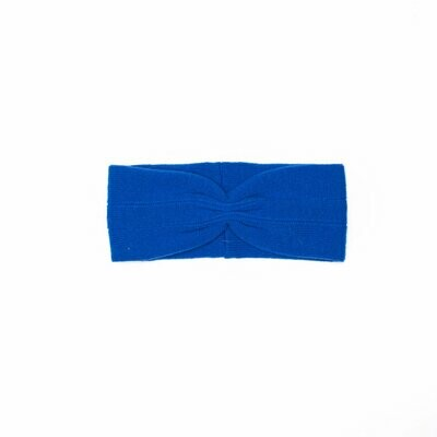 Wolvis   Knitted Head Band - Electric Blue (one left)