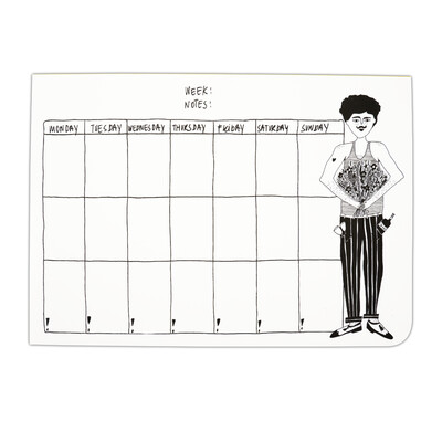 helenb | Weekly Planner A4 - Flower Man