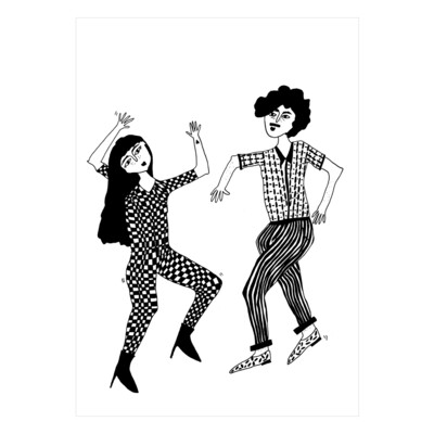 helenb | Postcard - dancing couple