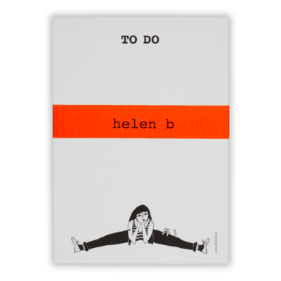 helenb | To do blocnote - Flexible Fiona (Restock January 2021)