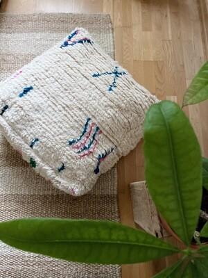 Olá Lindeza | Azilal Berber Pouf Rafik - Floor Pillow