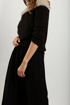 wearable stories | A-line Skirt Viscose - Black