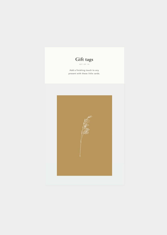 Inkylines | Set of 10 Mini cards - Botanical mix II