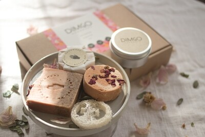 Dimgo | Wellness Box - Bouquet Power Roses