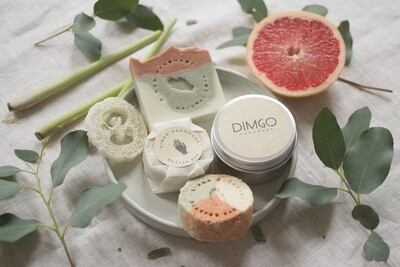 Dimgo | Wellness Box - Fresh as it gets (Blood orange & lemon grass)