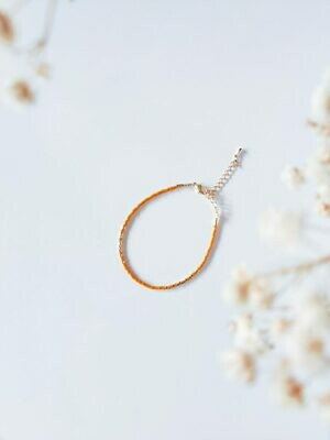 Isa & Roza | Miyuki Pearls Bracelet - Kurkuma Gold