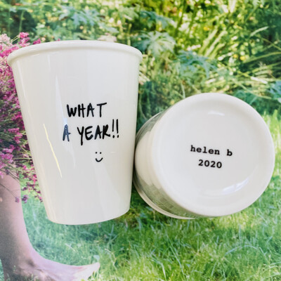 helenb | What a Year 2020 - Porcelain Cup