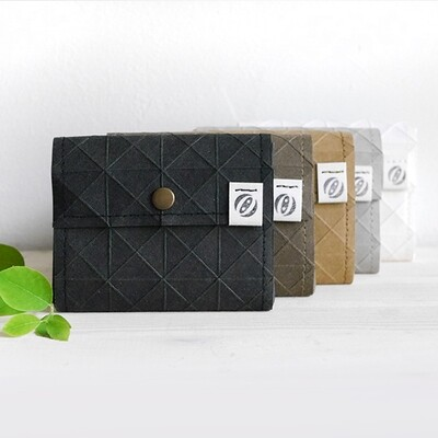 Kummerlöwe   Black Vegan Wallet - Medium