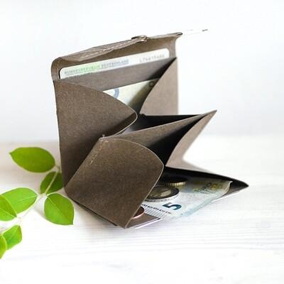 Kummerlöwe   Taupe Vegan Wallet - Medium