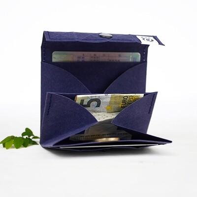 Kummerlöwe   Blue Vegan Wallet - Medium