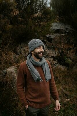 Näz | Recycled Wool Beanie Short - Grey