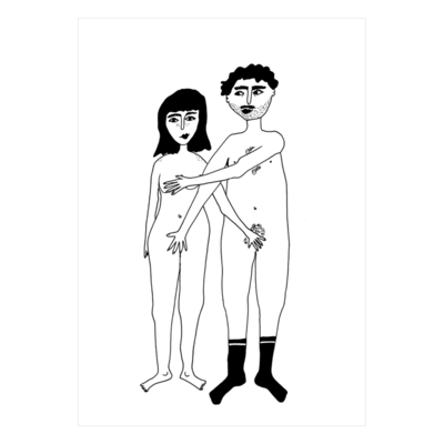 helenb | Postcard - naked couple