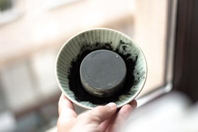 Dimgo | Handmade Natural Body Butter Bar - Bergamot, Ylang-Ylang & Activated Carbon