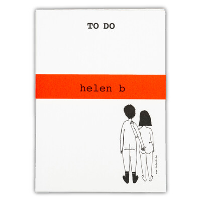 helenb | To do blocnote - naked couple back