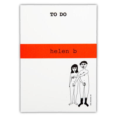 helenb | To do blocnote - naked couple