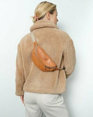 MULINU   Hipbag / cross body bag HENNES S cognac leather