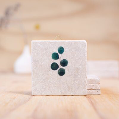 evimstore | Printed Natural Stone Tile - Eucalyptus