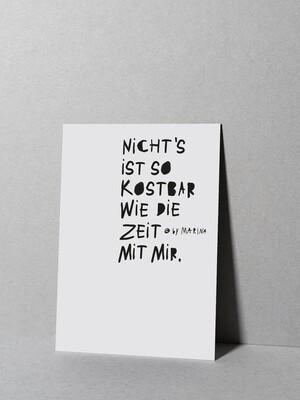 MARI & ANNE | Postcard - Nicht´s ist so kostbar..