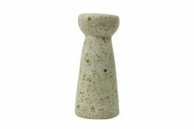Kinta | Vase Hyacinth - wood and paper pulp 24cm