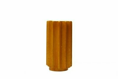 Kinta | Vase Cap Pulp Pumpkin Orange Small - 17cm