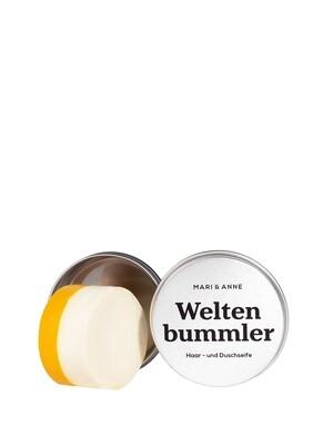MARI & ANNE | Weltenbummler hair & body soap - with aluminium dose