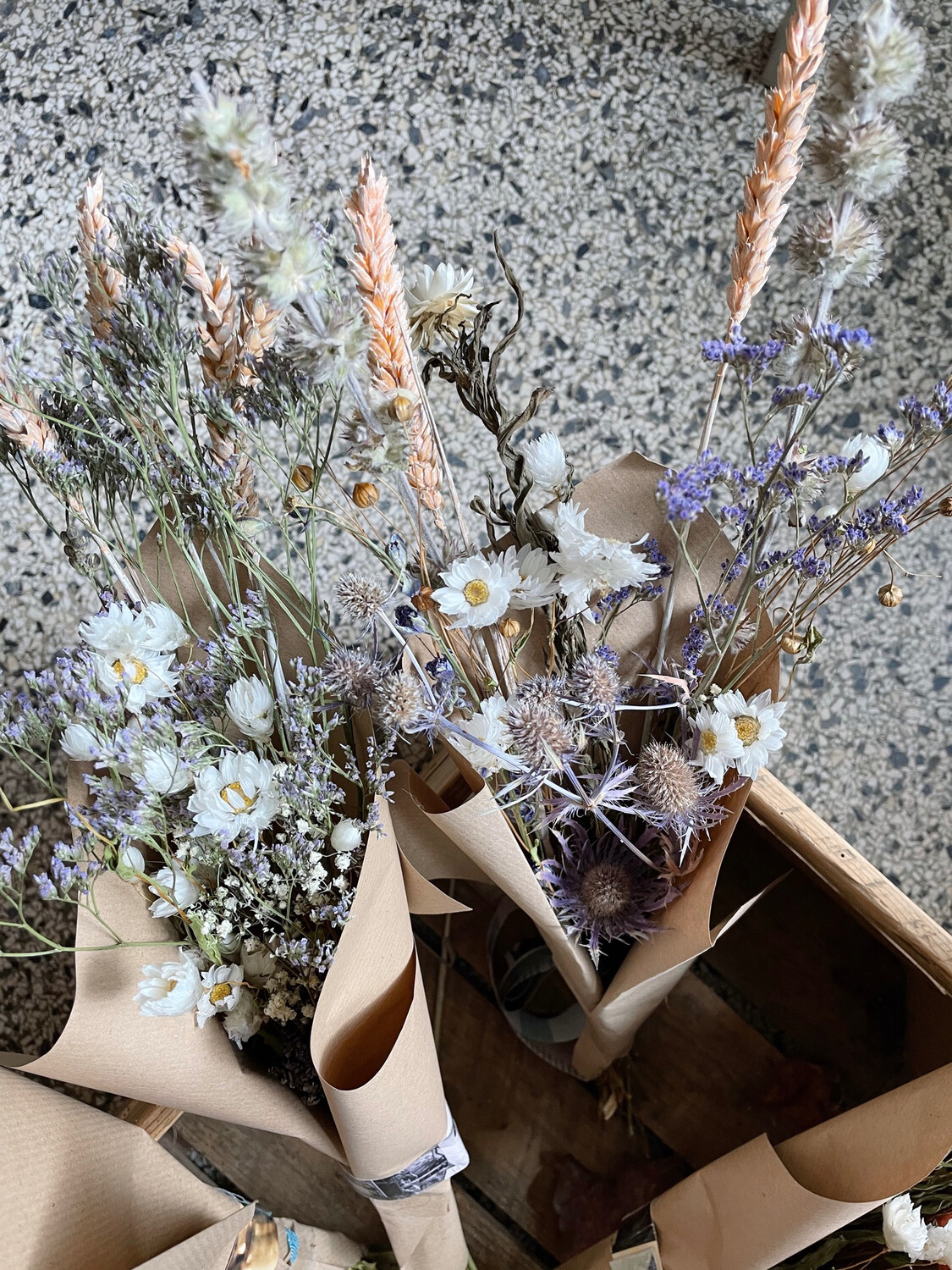 Dried flowers bouquet small | Different varieties