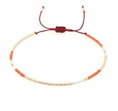Selva Sauvage   Sunset Pearls Bracelet