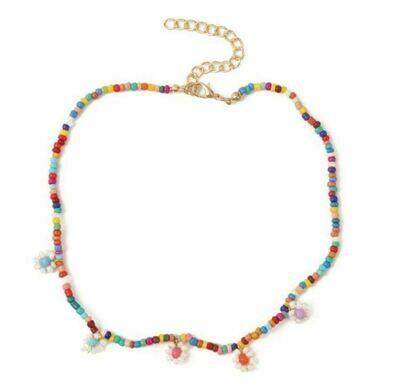 Selva Sauvage   Flower Power Pearls Necklace