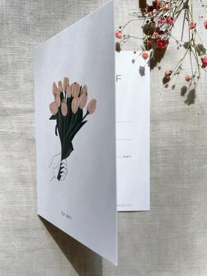 Gift Card - Tulips für dich