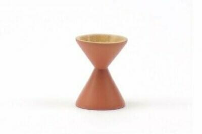 Kinta | Egg Cup - acacia sand sandglass sienna orange