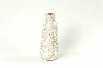 Kinta | Vase Cap Pulp Sienna - 26cm and dried flowers