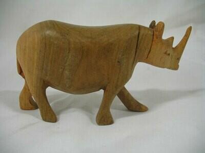 Rhino 18cm - wood