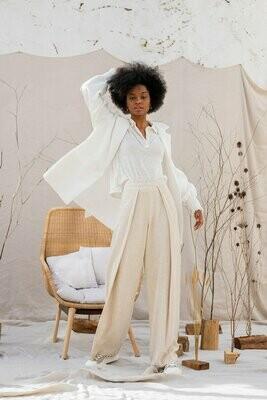 Benedita Formosinho   Jade Trousers - linen and rayon