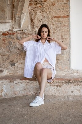 Benedita Formosinho | Ilite Shirt - white cotton and viscose