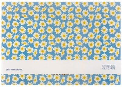 A-journal   Week/Deskplanner - Daisies