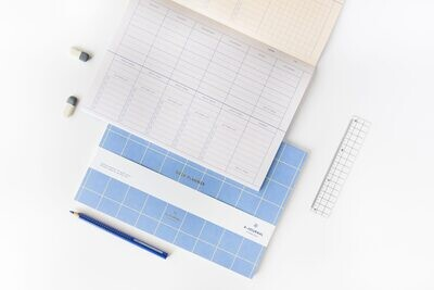 A-journal | Week/Deskplanner - Lavender Blue