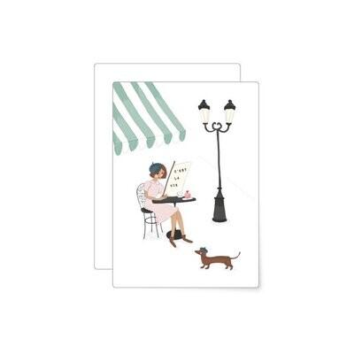 MIAO Papeterie | Postcard - Café Paris