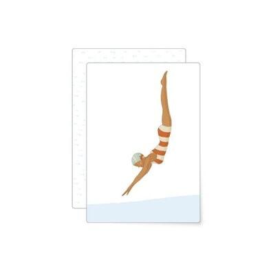 MIAO Papeterie | Postcard - Swim