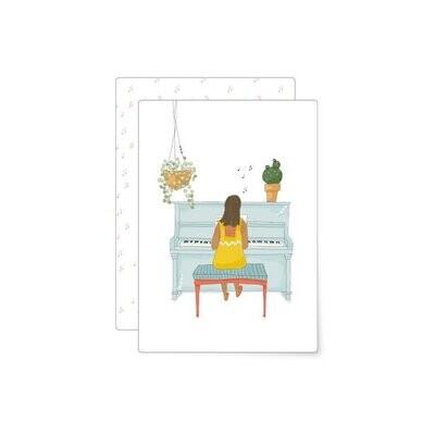 MIAO Papeterie | Postcard - Piano