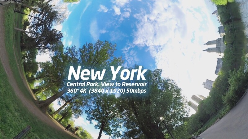 New York. Central Park. View to Jacqueline Kenedy Onasis Reservoir