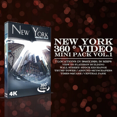 NEW YORK 360° VIDEO MINI PACK VOL.1